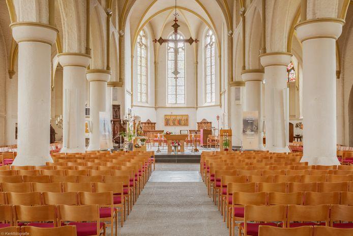 De Andreaskerk in Zevenaar.