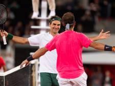 Un record et du spectacle: Federer et Nadal ont fait le show pour la bonne cause
