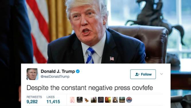 Twitter amuseert zich met nieuwe taalfout van Trump, maar hij kan best wel lachen met de reacties