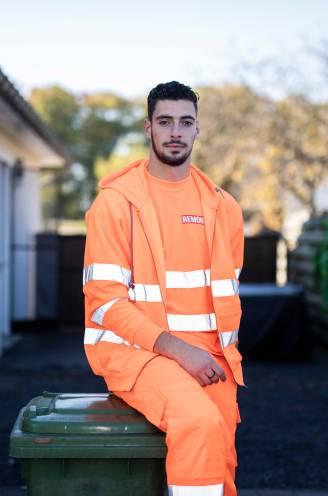 """Leonardo (22) liep 's middags nog achter de vuilniskar, 's avonds stond hij onder de lat tegen AA Gent: """"Er is geen betere job om met voetbal te combineren"""""""
