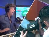 538-DJ Wietze de Jager krijgt live op de radio een tatoeage