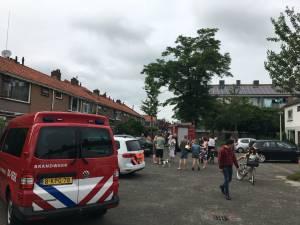 Bewoner van brandend huis in Zwolle getaserd en ingerekend