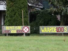 Bewoners Zutphenseweg Laren eisen dat gemeente Lochem bouwplan stopt: 'Landschap wordt aangetast'