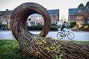 Groningers fietsen heel wat af, zoals hier op de Helperzoom.