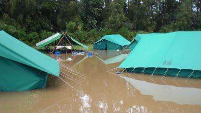 Scoutskamp in Dinant geëvacueerd na zwaar onweer