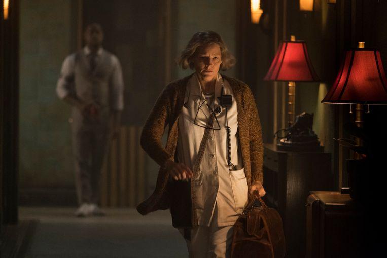 Hotel Artemis, met Jodie Foster, is meer dan de zoveelste shoot-'em-up B-film.  Beeld rv
