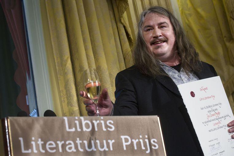 Ilja Leonard Pfeijffer wint de Libris Literatuur Prijs, 2014 Beeld anp