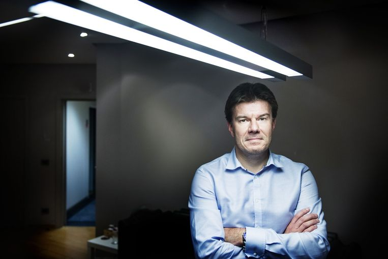 Vlaams minister van Cultuur Sven Gatz (Open Vld). Beeld Eric de Mildt