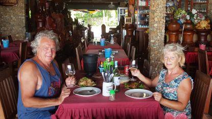 """Palenaars Guy en Wieske zitten al twaalf weken vast in Cambodja: """"Het begint nu toch wel lang te duren, maar gelukkig is er Duvel"""""""