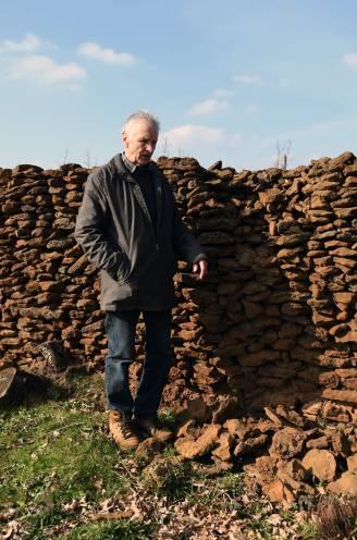 """Vandaal vernielt historische muur op Wijngaardberg: """"Vijf jaar en duizenden uren werk weg"""""""