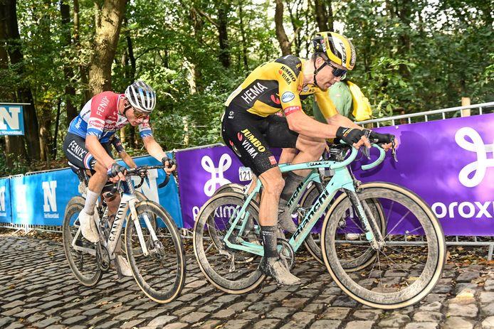 Van Aert en Van der Poel.