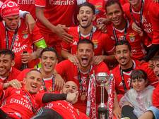 Landskampioen Benfica pakt ook de beker