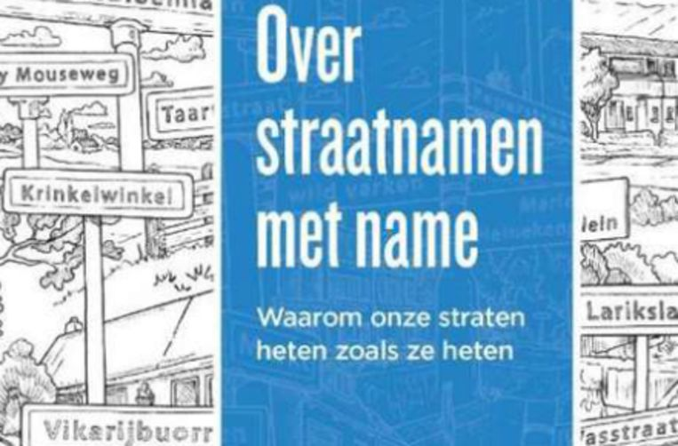 René Dings - Over straatnamen met name Beeld RV