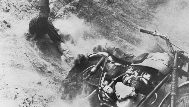 De winnende foto van de eerste World Press Photo of the Year Award in 1955. Beeld Mogens von Haven