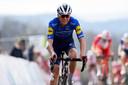 Mauri Vansevenant eindigde als 27ste op de Muur van Hoei.