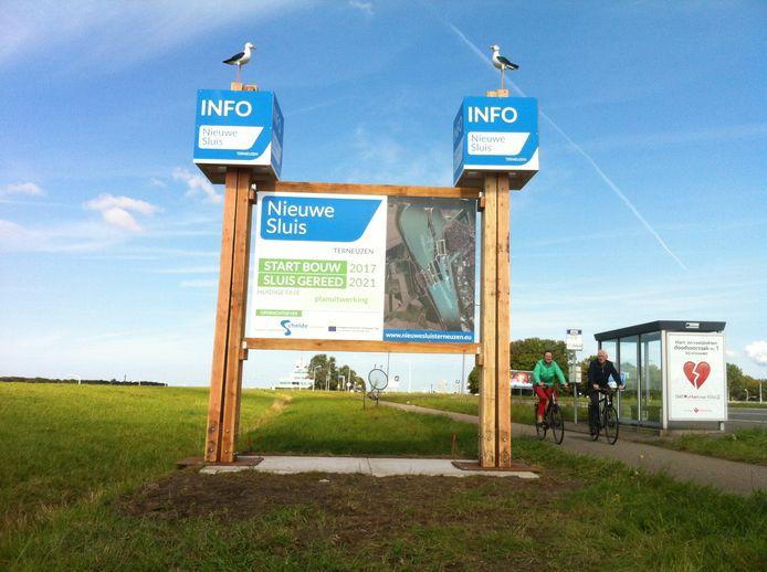 Informatiebord Nieuwe Sluis