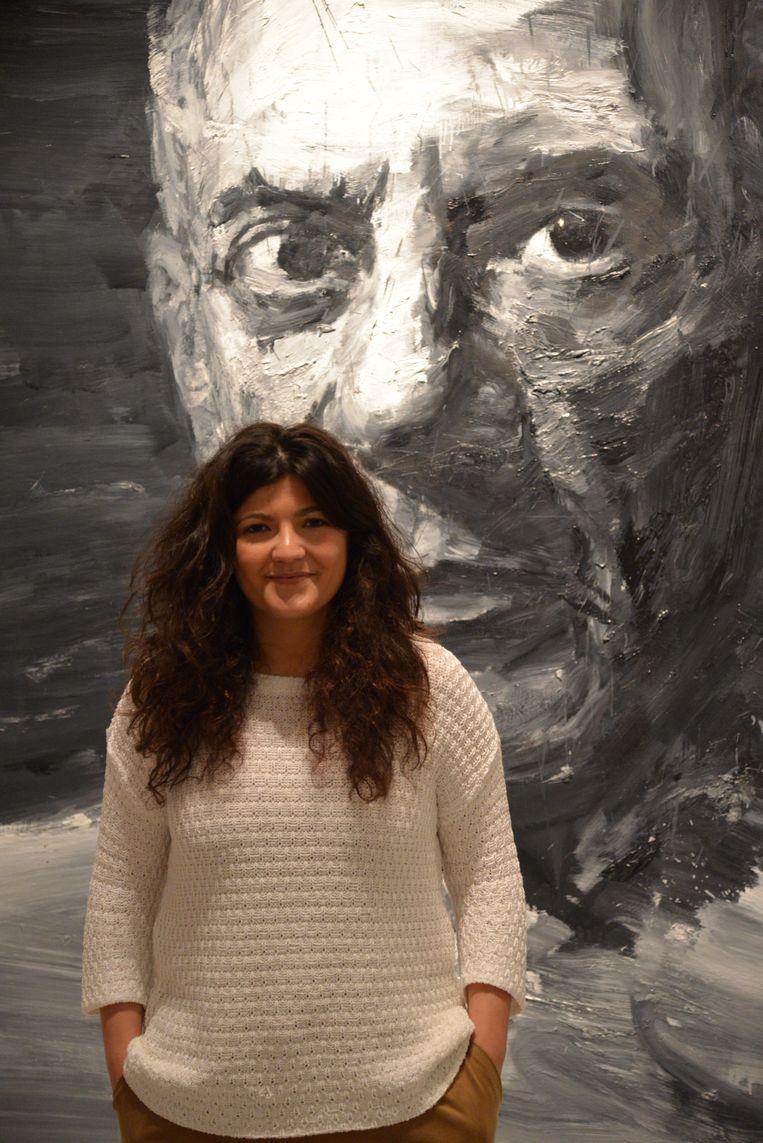 Alicia Gutiérrez. Beeld Eric van den Berg