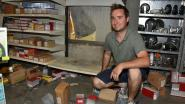 Dieven maken al kruipend 10.000 euro buit