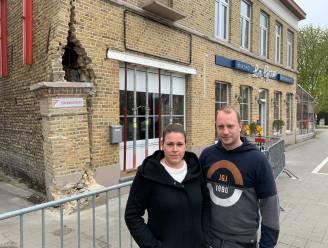 """Bistro overgenomen in volle coronacrisis, plots rijdt Lijnbus tegen gevel: """"Net nu 8 mei eraan komt"""""""
