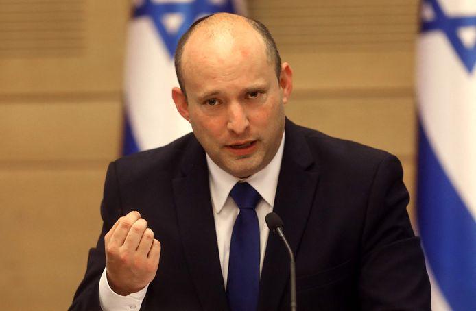 De nieuwe Israëlische premier Naftali Bennett.