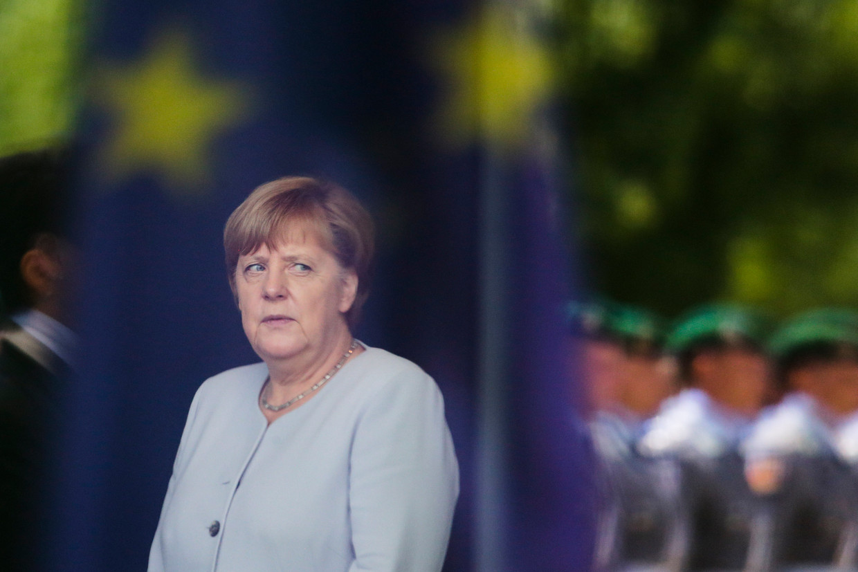 Duitse bondskanselier Angela Merkel.