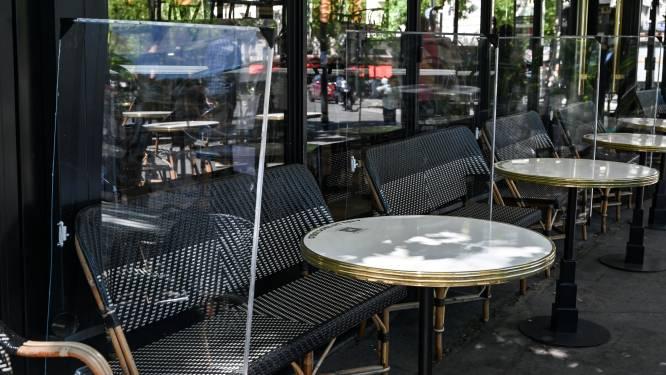 Plexischermen tussen tafels mogen dan toch niet