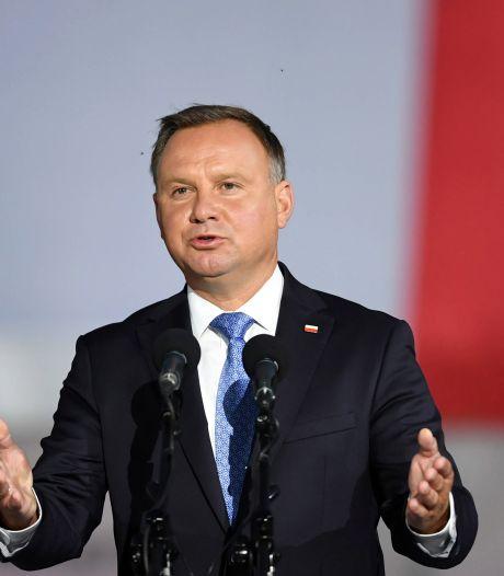 Le président polonais Andrzej Duda testé positif