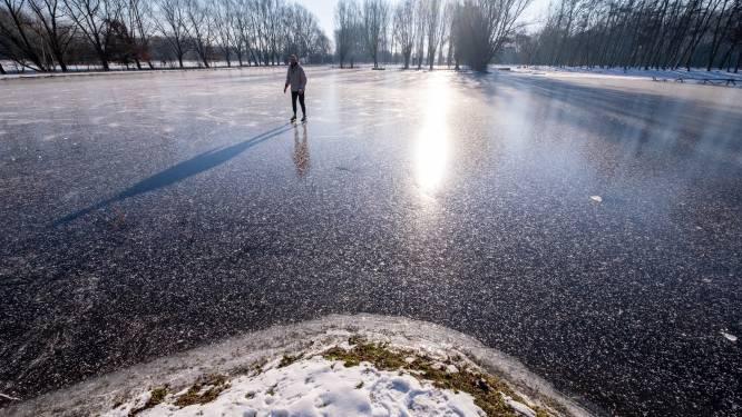 """Bornem koopt zeil voor ijspiste: """"Betaalbaar alternatief voor schaatsbaan, pak veiliger dan vijvers en grachten"""""""