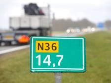 Onderhoud aan N36, weg tussen Wierden en Ommen wordt 's nachts gedeeltelijk afgesloten