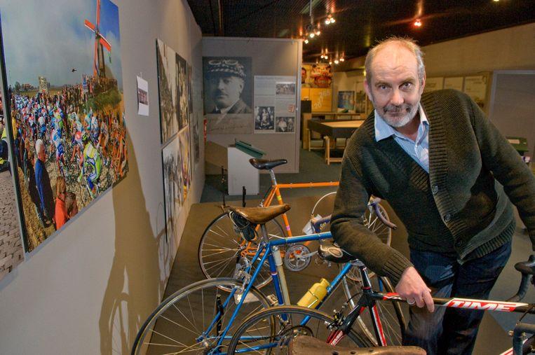 Rik Van Walleghem in het vernieuwde Centrum Ronde van Vlaanderen