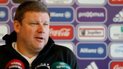 """Devroe : """"Vanhaezebrouck ook volgend seizoen trainer van Anderlecht"""""""