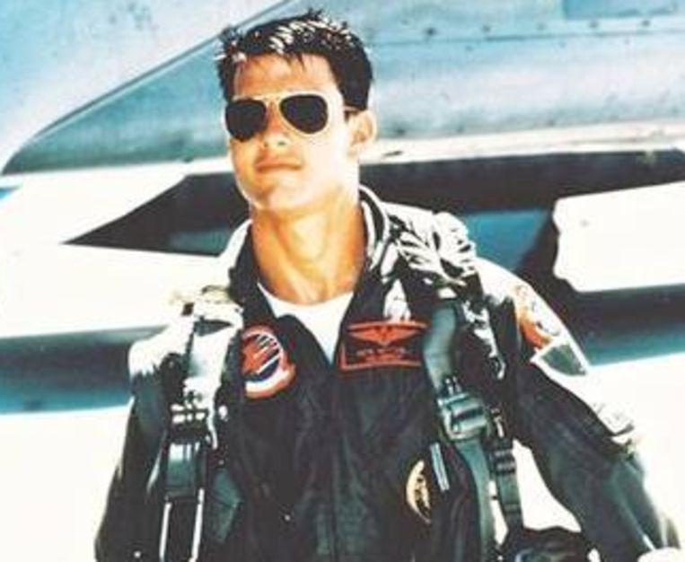 'Top Gun' en Tom Cruise: een zegen voor Ray Ban. Beeld UNKNOWN