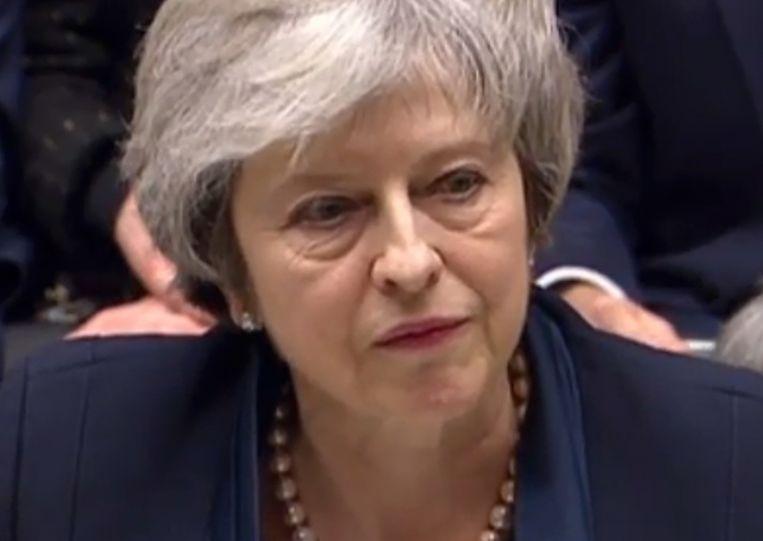 Brits eerste minister Theresa May. Beeld AFP