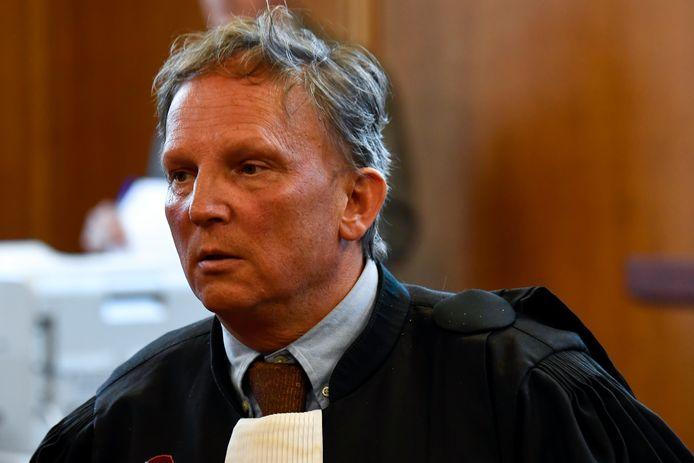 Advocaat Johan Platteau, raadsman van Reuzegommer P.O.