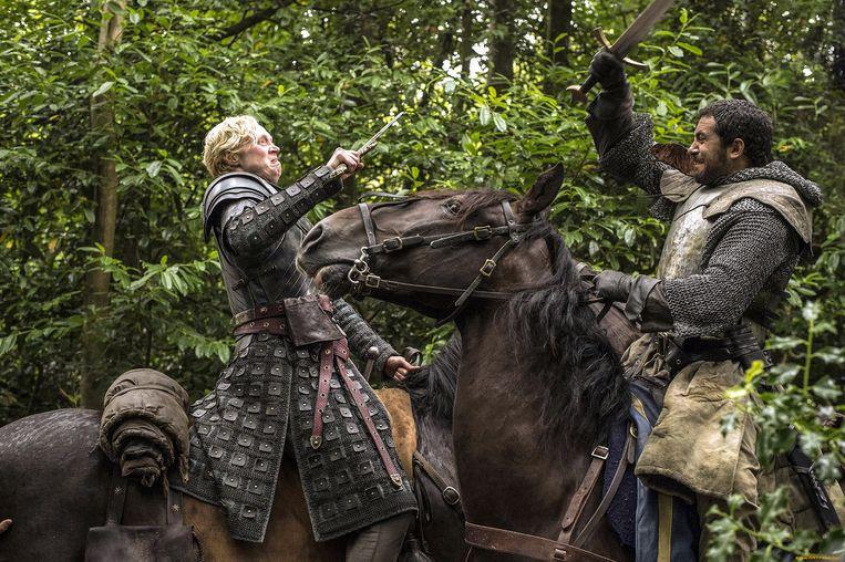 Gwendoline Christie speelt Brienne van Thart Beeld HBO