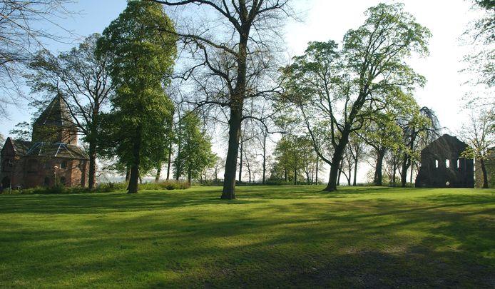 Het Valkhofpark in Nijmegen.