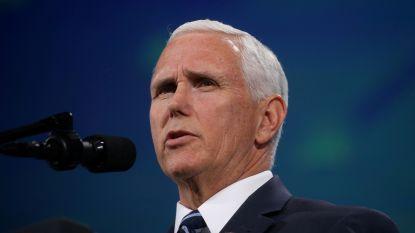 Vliegtuig met vicepresident Pence zet bijna landing in, wordt teruggeroepen naar Washington DC