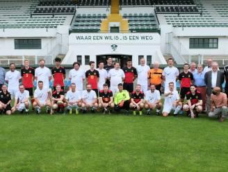 """Kent u deze nationale voetbaltrots al? Unified-team speelt tegen BV's eerste match: """"Voor de aftrap zie je al dat de bekende Vlamingen het lastig zullen hebben"""""""