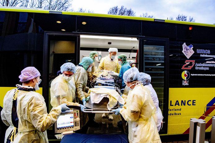 Patiënten uit Brabant zijn verplaatst naar ziekenhuizen elders in het land.