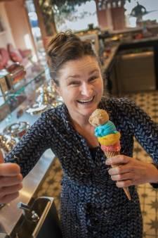 Een gouden combi in Kesteren: ijs, fruit én broodjes