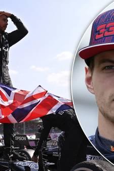 Max Verstappen haalt uit naar feestende Hamilton: 'Respectloos en onsportief'