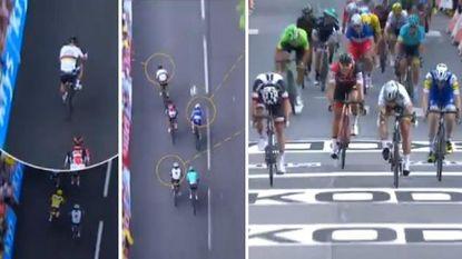 Oppermachtige Sagan schiet uit klikpedaal, maar heerst op de slotklim in Longwy