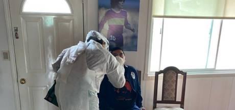 Maradona niet besmet met coronavirus