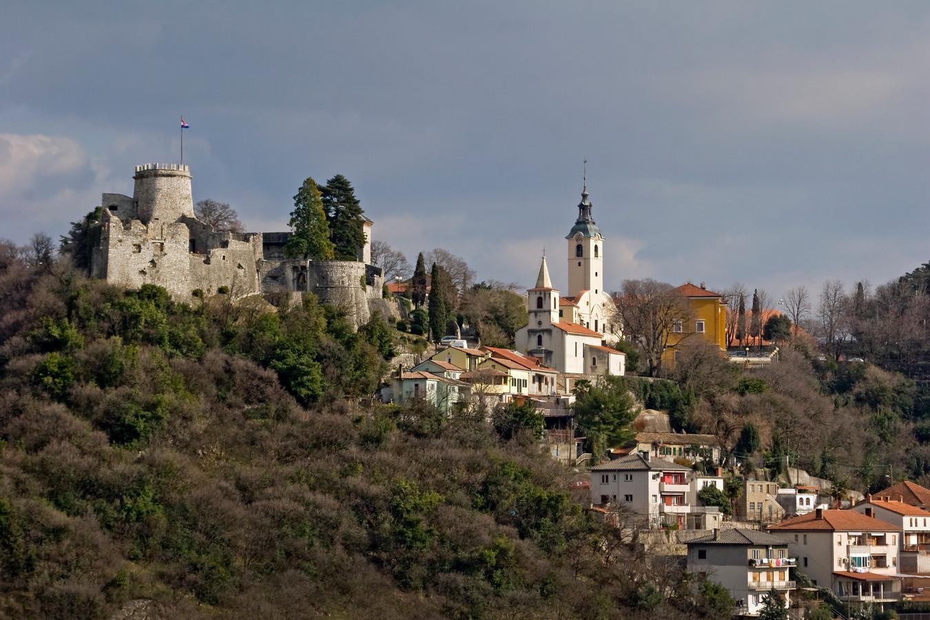 Le château de Trsat offre une vue imprenable sur la ville.