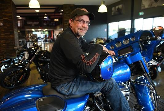 Bill Davidson, de achterkleinzoon van William Davidson, de medeoprichter van Harley-Davidson.