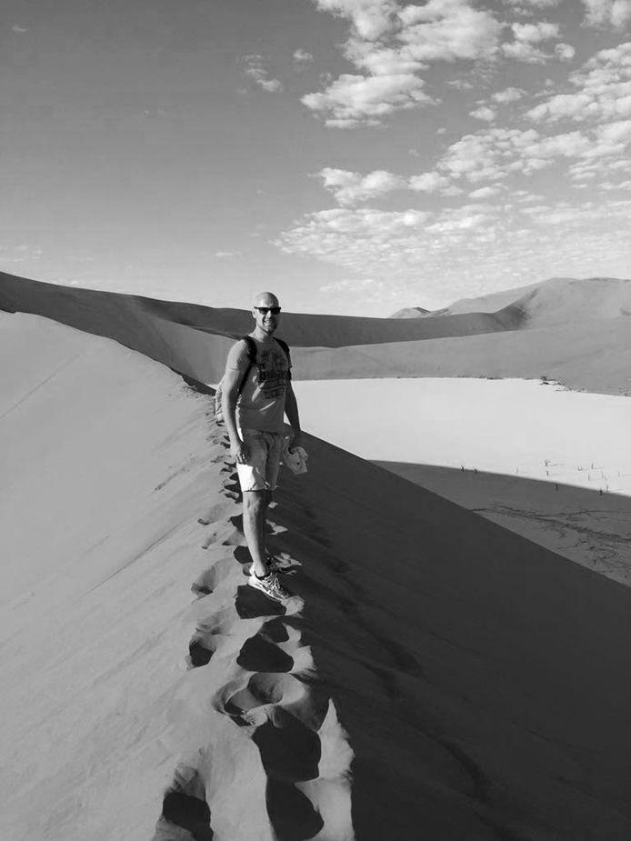 Reizen is een gedeelde passie van Maarten en Esther. Een van de trips brengt de Wierdenaren naar Namibië.