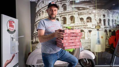 """Pizza Roma toe aan 101ste solidariteitsactie: """"Al bijna 4.000 pizza's weggeschonken, maar we stoppen niet tot alles weer normaal is"""""""