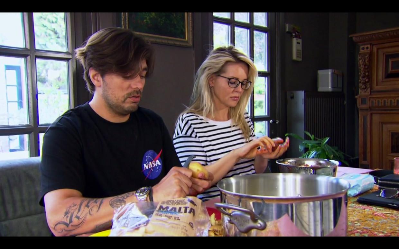 Waylon en Chantal Janzen. Beeld RTL