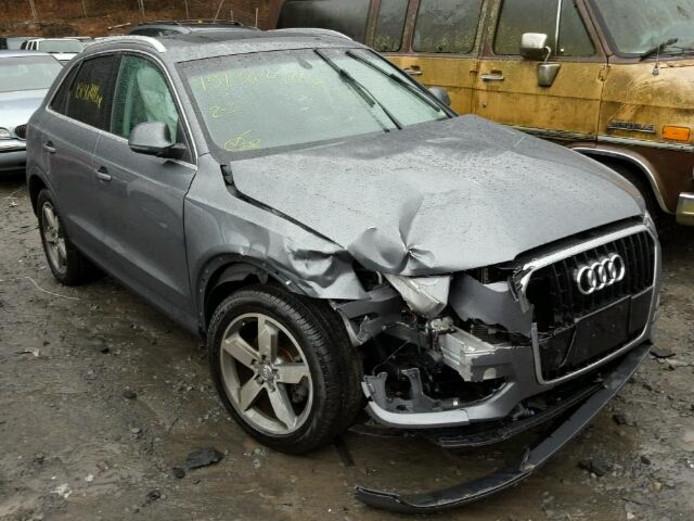 Audi Q3 met schade