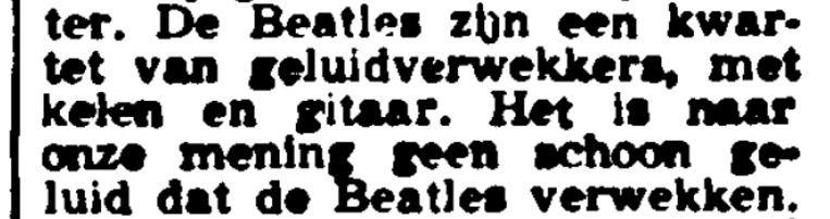 Uit De Tijd/Maasbode, 2 november 1963. Beeld rv